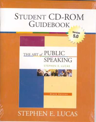 9780073265322: Student CD-ROMs 5.0 with Guidebook and PowerWeb card (NAI) to accompany The Art of Public Speaking, 9th Edition