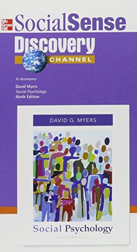 9780073265377: Social Sense Discovery Channel: To Accompany David Myers 'Social Psychology'