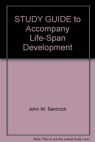 9780073265438: STUDY GUIDE to Accompany Life-Span Development