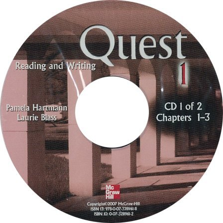 9780073265797: Quest Level 1 Reading and Writing Audio CDs (2)