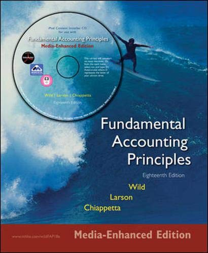 9780073266480: Fundamental Accounting Principles 18e Media Enhanced Edition: Media Enhanced Edition Phase 2