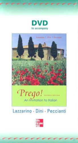 9780073266749: DVD to accompany Prego! An Invitation to Italian