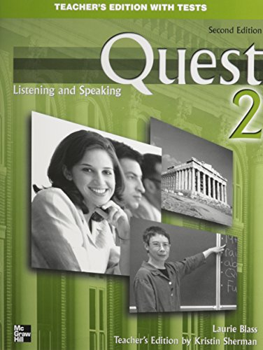 9780073267067: Quest Level 2 Listening and Speaking Teacher's Edition
