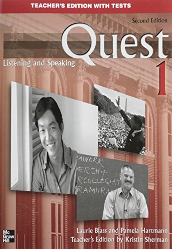 9780073267098: Quest 1 Listening and Speaking, Teacher's Edition with Tests