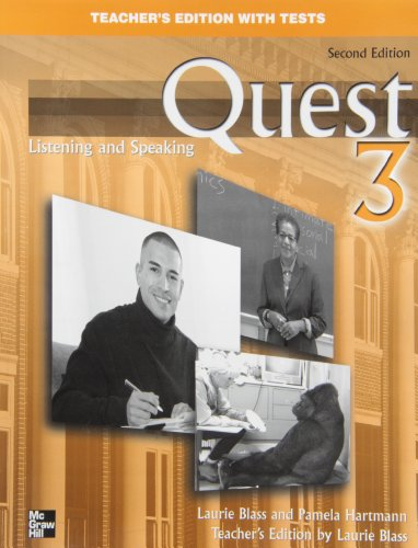 9780073267111: Quest 3 Listening and Speaking Teacher's Edition with Tests
