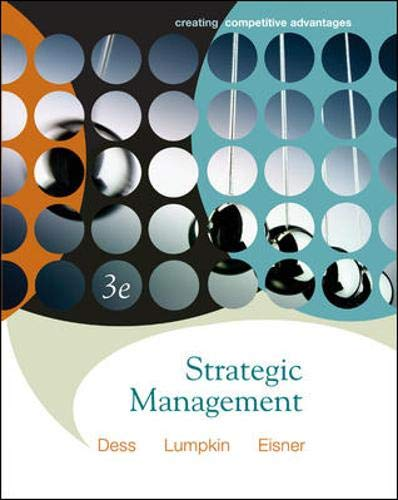 9780073267210: Strategic Management: Creating Competitive Advantage with Online Learning Center access card