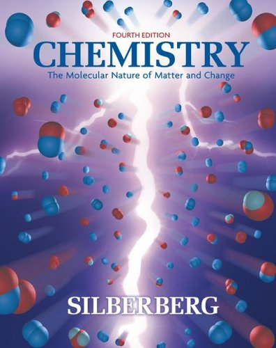 9780073268088: Chemistry: The Molecular Nature of Matter and Change