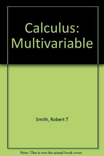 9780073268477: Calculus: Multivariable