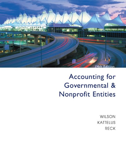 9780073268927: Accounting for Governmental and Nonprofit Entities with City of Smithville CD-ROM