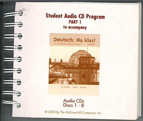 9780073269207: Student Audio CD Program Part 1 t/a Deutsch: Na klar! (Pt. 1)
