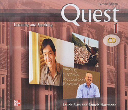 9780073269757: Quest 1 Listening and Speaking Audio CDs