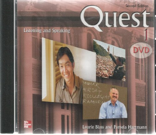 9780073269924: Quest Level 1 Listening and Speaking Teacher's DVD