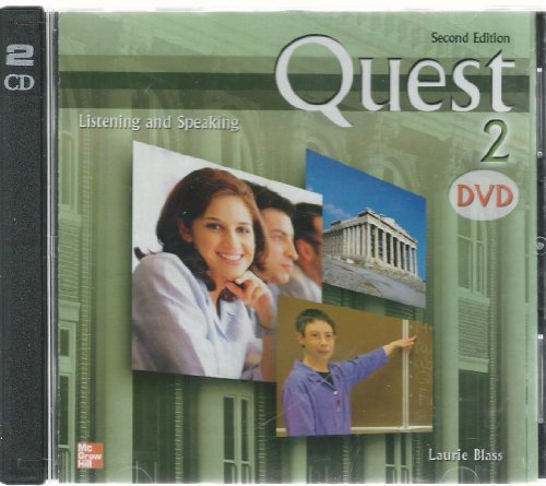 Teacher s DVD to Accompany Quest: Listening and Speaking 2: Laurie Blass