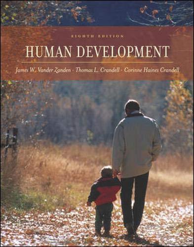 Human Development with PowerWeb: James W Vander