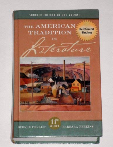 9780073271378: The American Tradition in Literature, Shorter