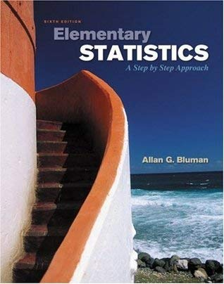 9780073271606: Elementary Statistics: A Step by Step Approach: Sixth [6th] Edition