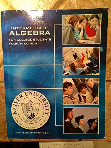 9780073271651: Intermediate Algebra for College Students