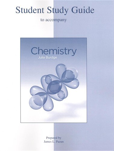 9780073271699: Student Study Guide to accompany Chemistry