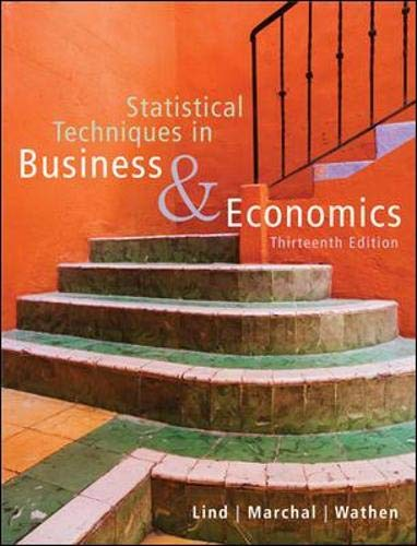 9780073272962: Statistical Techniques in Business and Economics with Student CD