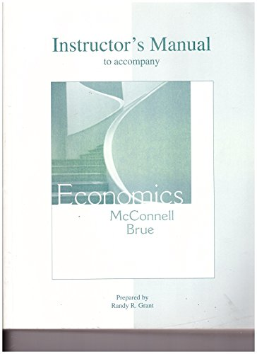 9780073273112: Instructor's Manual to accompany Economics: Principles, Problems, and Policies