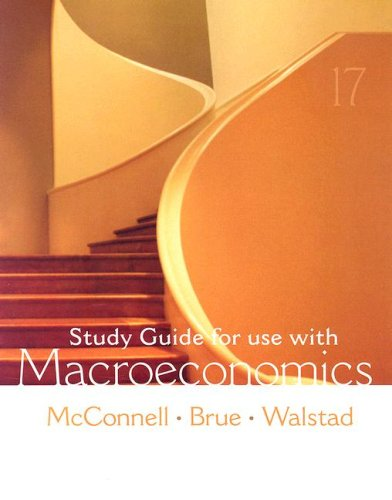 9780073273204: Study Guide for use with Macroeconomics