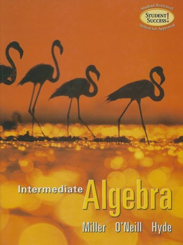 9780073274102: Intermediate Algebra