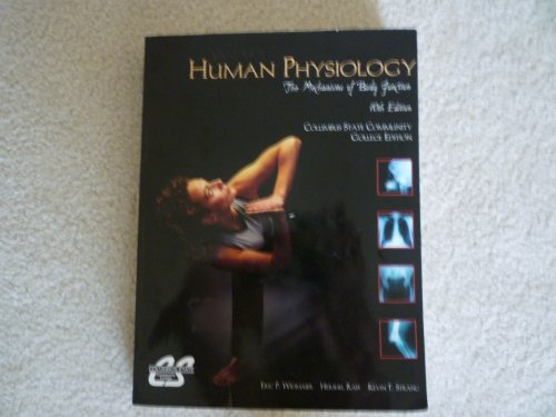 9780073276830: Vander's Human Physiology: The Mechanisms of Body Function, 10th Ed, COLUMBUS STATE CC EDITION