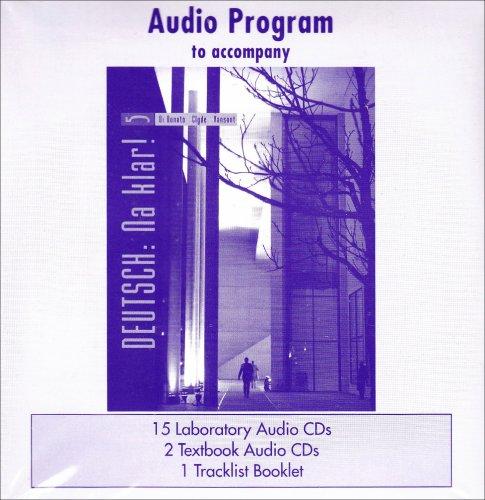 9780073278018: Laboratory Audio Program t/a Deutsch: Na klar! An Introductory German Course