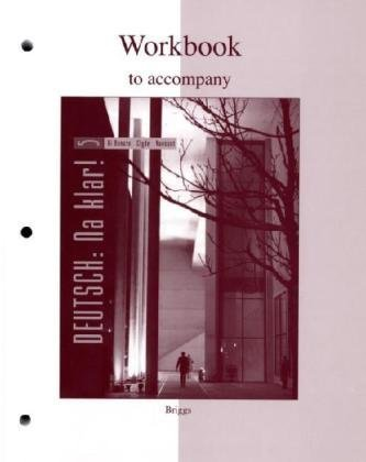 9780073278094: Workbook to accompany Deutsch: Na klar! An Introductory German Course