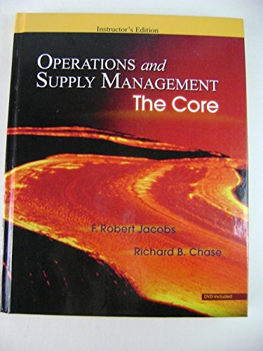 9780073278292: Operations and Supply Management: The Core