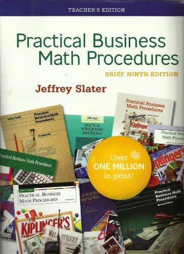 9780073278674: Practical Business Math Procedures