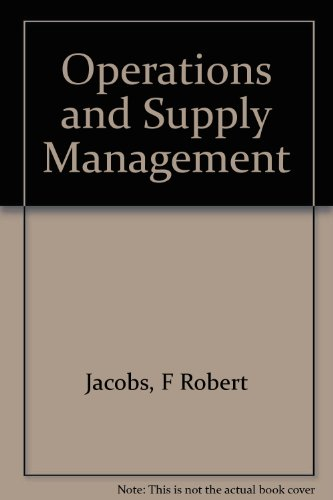 9780073278735: Operations and Supply Management
