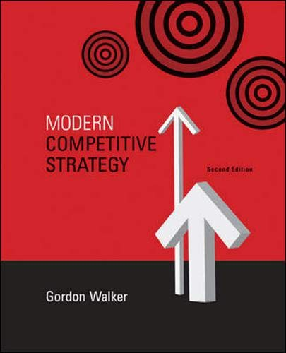9780073279336: Modern Competitive Strategy with Online Access Card