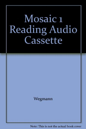 9780073279879: Mosaic 1 Reading Audio Cassette