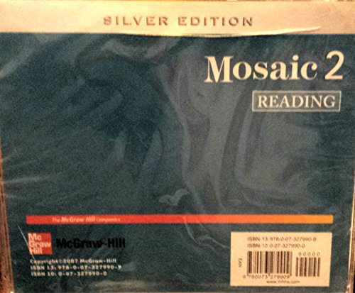 9780073279909: Interactions/Mosaic: Silver Edition - Mosaic 2 (High Intermediate to Low Advanced) - Reading Audio CDs (2)