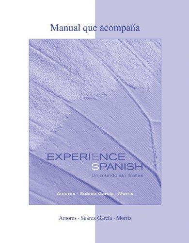 9780073280189: WBLM to accompany Experience Spanish