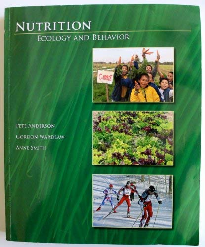 9780073280394: Nutrition, Ecology and Behavior