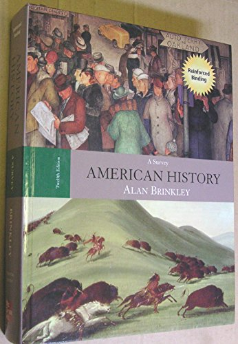 9780073280479: American History: A Survey, 12th Edition (Book & CD-ROM)
