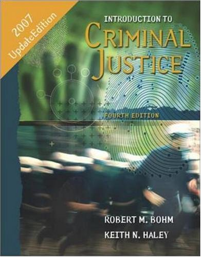 9780073280486: Introduction to Criminal Justice: Updated Edition