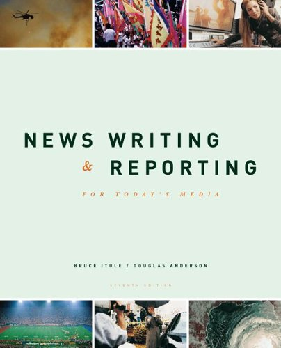 9780073280509: New Writing and Reporting for Today's Media with PowerWeb