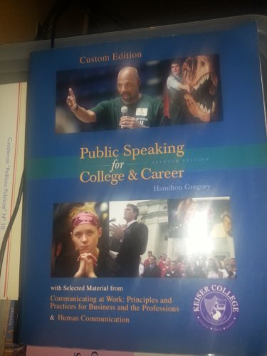 9780073280615: Public Speaking for College & Career