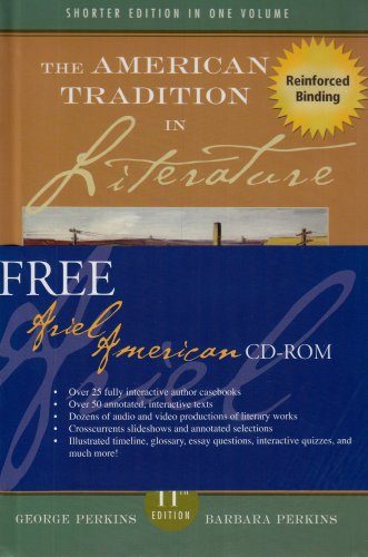 9780073281223: The American Tradition in Literature (Concise) MP w American Ariel CD (NASTA Hardcover Reinforced High School Binding) by George Perkins (A/P AMERICAN LITERATURE)