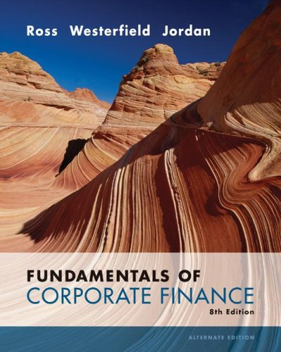 9780073282114: Fundamentals of Corporate Finance Alternate Value 8th Edition