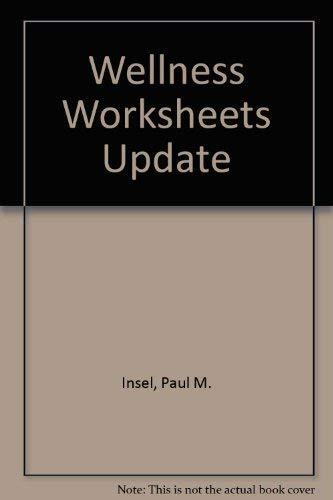 9780073282534: Wellness Worksheets