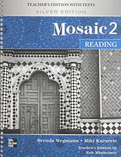 9780073283937: Mosaic Level 2 Reading Teacher's Edition