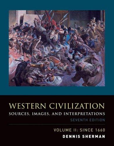 9780073284743: Western Civilization: Sources, Images, and Interpretations, Volume 2, Since 1660