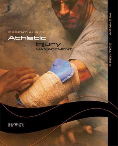 9780073284811: Essentials of Athletic Injury Management (NASTA Hardcover)