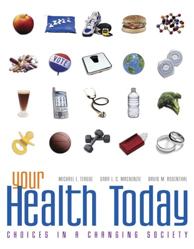 9780073285078: Your Health Today: Choices in a Changing Society with Online Learning Center Bind-in Card