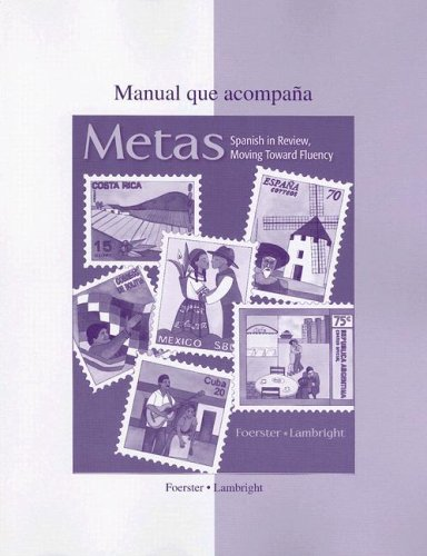 9780073285511: Metas Workbook/Laboratory Manual