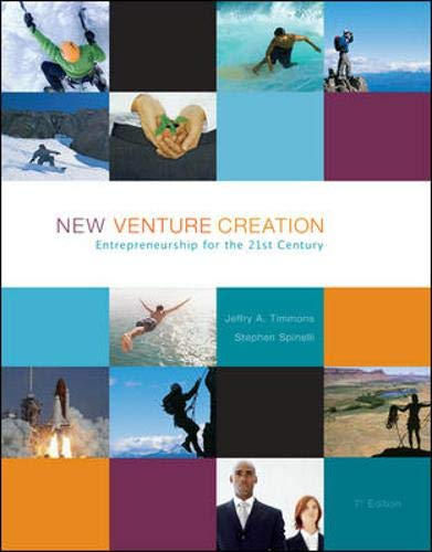 9780073285917: New Venture Creation: Entrepreneurship for the 21st Century with Online Learning Center access card